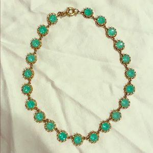 Green J.Crew Necklace